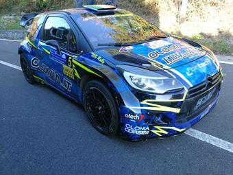 Simone Miele Lisa Bollito (Citroen DS3 WRC New Turbomark #5), CAMPIONATO ITALIANO WRC